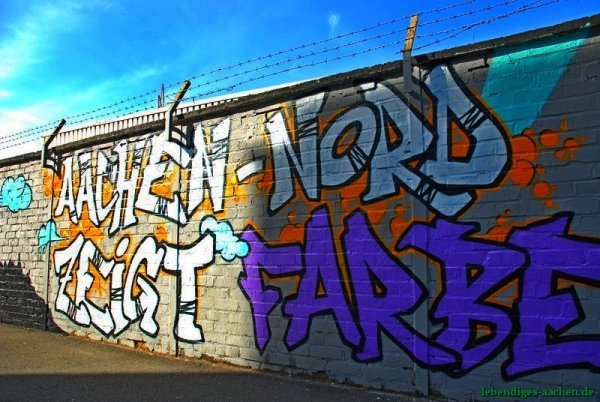 Aachen-Nord zeigt Farbe - Lake Graffiti04